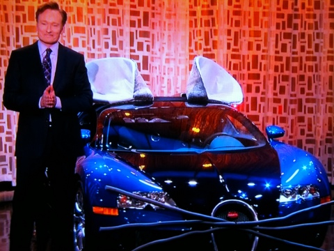 Bugatti Veyron Mouse - The Tonight Show with Conan O'Brien