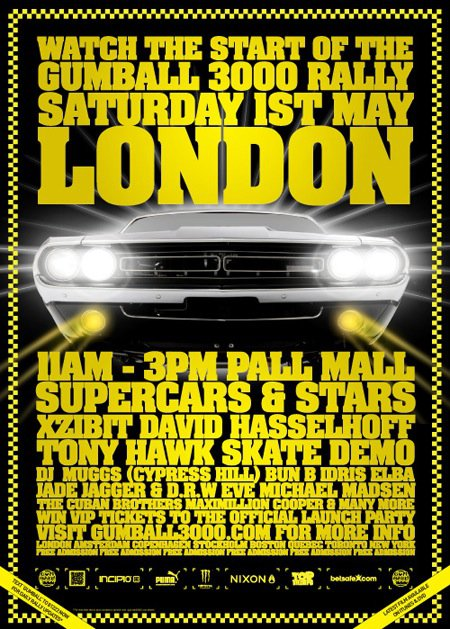 2010 Gumball 3000 - London