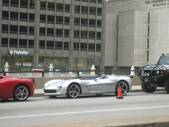 Transformers 3 - Corvette Stingray Convertible Concept