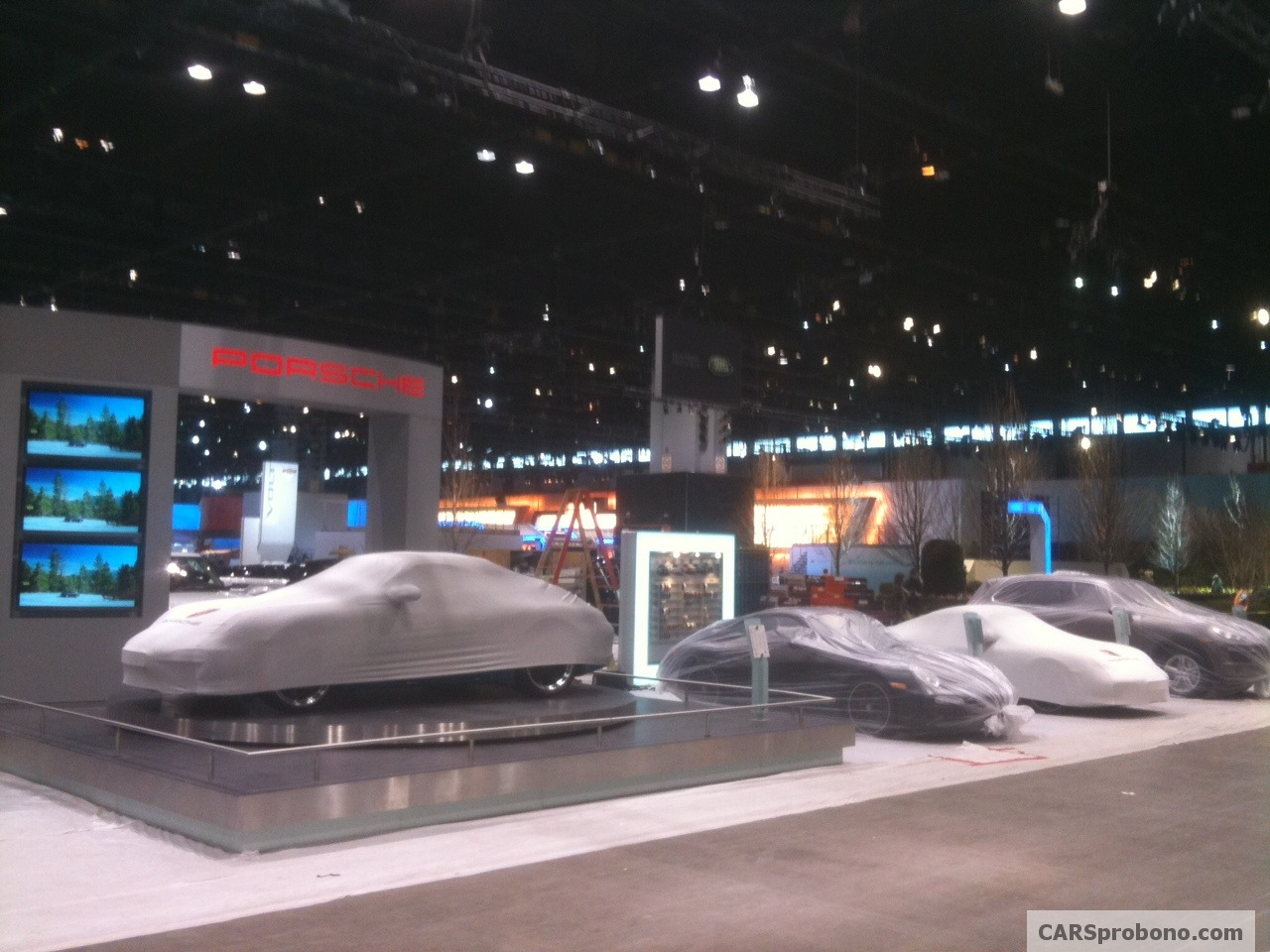Porsche Preparing for Chicago Auto Show
