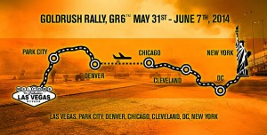 2014 goldRush Rally Route